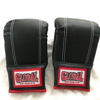 グローバル(GLOBAL)の《美品》GROBAL SPORTS ボクシンググローブ Sサイズ(ボクシング)