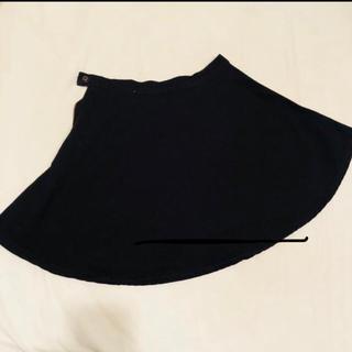 アメリカンアパレル(American Apparel)のアメアパ♡フレアスカート♡ブラックデニム(ミニスカート)