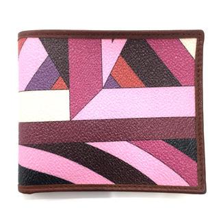 エミリオプッチ(EMILIO PUCCI)のEMILIO PUCCI / エミリオプッチ 小銭入れなし 二つ折り財布(財布)