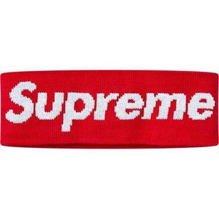 シュプリーム(Supreme)のSupreme New Era Big Logo Headband Red(その他)