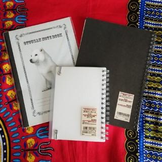 MUJI (無印良品) - お父さん犬&MUJI(Used)★ノート3冊セット