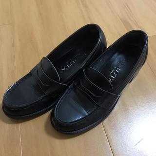 ハルタ(HARUTA)のローファー 黒(ローファー/革靴)