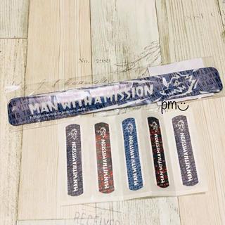 マンウィズアミッション(MAN WITH A MISSION)の新品未開封 MAN WITH A MISSION 腕パッチン 絆創膏 セット(ミュージシャン)