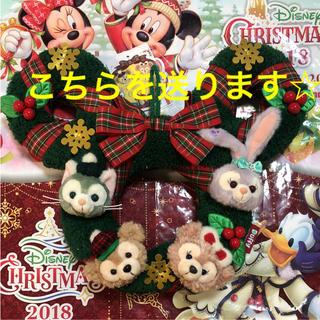 ラスト1点♡ 新作 ダッフィー リース 2018 クリスマス