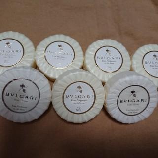 ブルガリ(BVLGARI)のBVLGARI  ブルガリ石鹸  50㌘ 7個(ボディソープ / 石鹸)