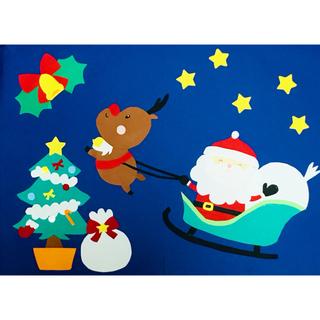 クリスマス壁面飾り(型紙/パターン)