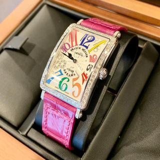 フランクミュラー(FRANCK MULLER)のFRANCKMULLER ロングアイランド カラードリーム ダイヤ 日本未発売 (腕時計)