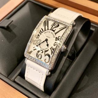 フランクミュラー(FRANCK MULLER)のFRANCK MULLER ロングアイランド レリーフ ダイヤ 世界限定88本(腕時計)