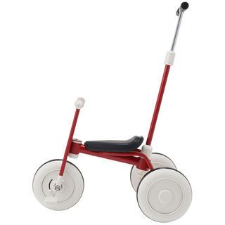 ムジルシリョウヒン(MUJI (無印良品))の(新品) 無印良品 舵取り棒付き レッド(三輪車)