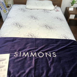 シモンズ(SIMMONS)のシモンズ SIMMONS ニューフィットⅡ (クイーンベッド)
