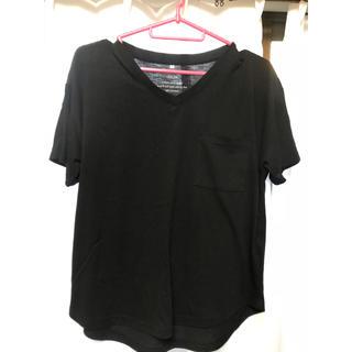 コルザ(COLZA)の(colza)黒Tシャツ(Tシャツ(半袖/袖なし))