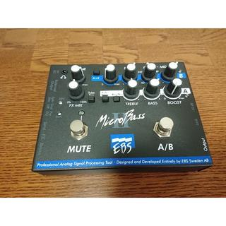 EBS micro Bass 2 II マイクロ ベース microbass(ベースエフェクター)