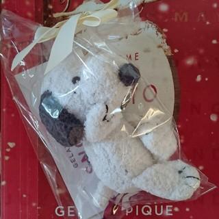 ジェラートピケ(gelato pique)のスヌーピー☆【PEANUTS】ガラガラ  (がらがら/ラトル)
