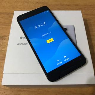 エルジーエレクトロニクス(LG Electronics)のNTTドコモ Nexus5x ホワイト 中古美品(スマートフォン本体)