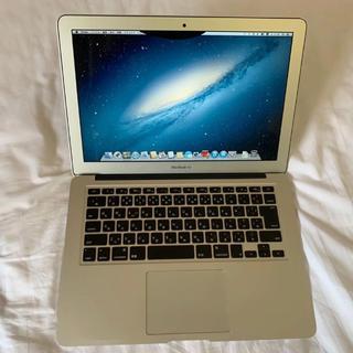 マック(Mac (Apple))のMacBook Air 13インチ 2012(ノートPC)