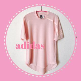 adidas - adidas アディダス レディース Tシャツ ピンク ヨガ ジム トレーニング