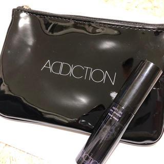 アディクション(ADDICTION)の【新品未使用】 addiction ポーチ ミスティ オン 化粧水 ノベルティ(化粧水 / ローション)