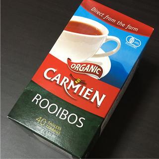 コストコ(コストコ)のカーミエン ルイボスティー ノンカフェイン オーガニック carmien お茶(茶)