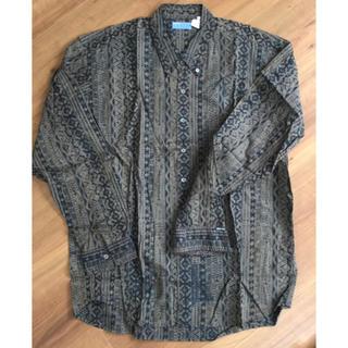 グッドイナフ(GOODENOUGH)の⭐️中古⭐️  GOOD ENOUGH  ボタンシャツ 柄シャツ サイズ L(シャツ)