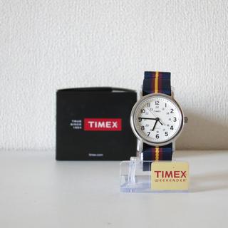 タイメックス(TIMEX)のTIMEX Weekender Navy ×Yellow(腕時計(アナログ))