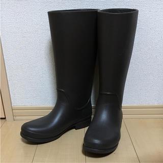 クロックス(crocs)の【美品】クロックス レインブーツ 24cm(レインブーツ/長靴)