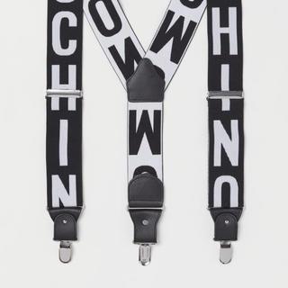 モスキーノ(MOSCHINO)のH&MOSCHINO ゴムサスペンダー(サスペンダー)