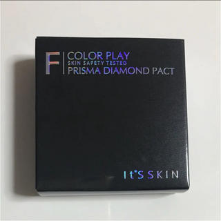イッツスキン(It's skin)のイッツスキン ダイヤモンドパクト  21号 ライトベージュ(ファンデーション)