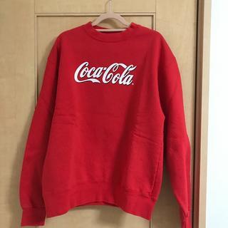 コカコーラ(コカ・コーラ)の古着 コカコーラ スウェット(トレーナー/スウェット)