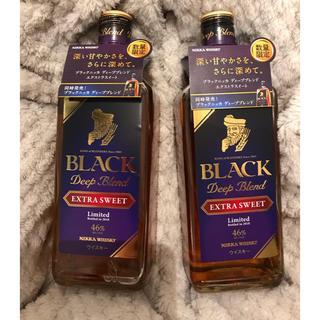 ニッカウイスキー(ニッカウヰスキー)のブラックニッカ ディープブレンド エクストラスイート 2本セット(ウイスキー)