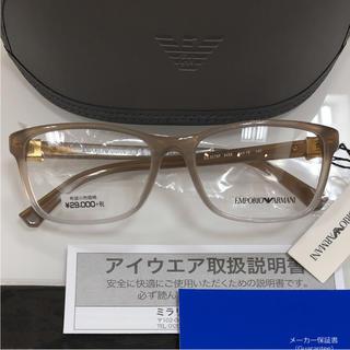 エンポリオアルマーニ(Emporio Armani)の定価31,320円 エンポリオアルマーニ EA3076F 5458 メガネ 眼鏡(サングラス/メガネ)
