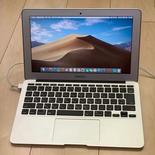 マック(Mac (Apple))のやづすけさま専用 Macbook air 2012 11インチ 美品 値下げ不可(ノートPC)