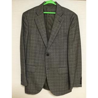 ジェイプレス(J.PRESS)のjpress ジャケット ブラウン Lサイズ ウール100(スーツジャケット)