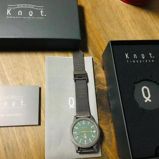 ノット(KNOT)のKnotソーラー腕時計(腕時計(アナログ))