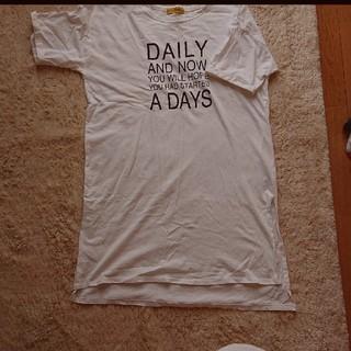 Tシャツ ワンピース マタニティーワンピース(マタニティワンピース)