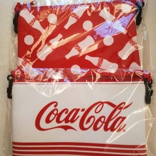 コカコーラ(コカ・コーラ)のコカ・コーラ ポーチ2セット(ノベルティグッズ)