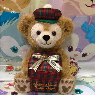 ダッフィー(ダッフィー)のこの子を送ります♡ 新作 ダッフィー ぬいぐるみ BOX付 2018 クリスマス(キャラクターグッズ)