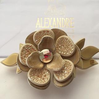 アレクサンドルドゥパリ(Alexandre de Paris)のアレクサンドルドゥパリ☆フラワーバレッタ(バレッタ/ヘアクリップ)