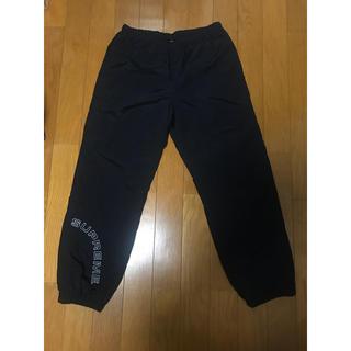 Supreme - 黒S SUPREME CORNER ARC TRACK PANTS