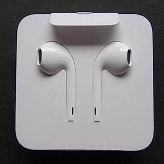 アップル(Apple)のApple iPhone 純正 イヤフォン(ストラップ/イヤホンジャック)