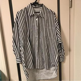 アナップ(ANAP)のストライプシャツ(シャツ/ブラウス(長袖/七分))