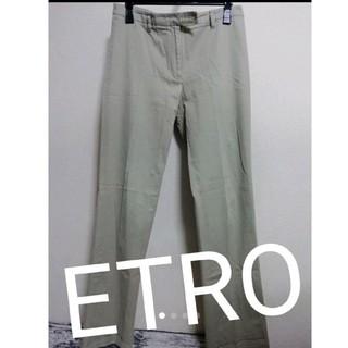 エトロ(ETRO)のETRO エトロ ミラノ チノパン パンツ(カジュアルパンツ)