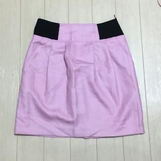 ノエラ(Noela)のNoela*サイドゴムスカート*ピンク(ミニスカート)