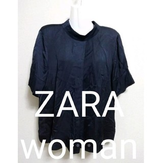 ザラ(ZARA)のZARA woman トップス カットソー (カットソー(半袖/袖なし))