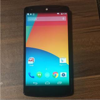 エルジーエレクトロニクス(LG Electronics)のNexus5(スマートフォン本体)