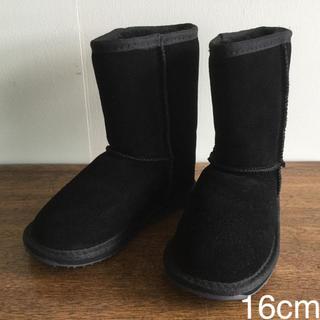 エミュー(EMU)の【子供用】EMU  エミュー ムートンブーツ Wallaby Lo 16cm(ブーツ)