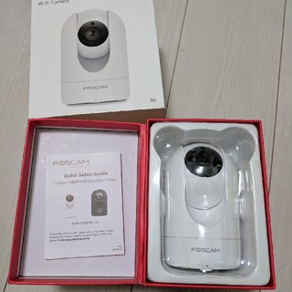 Fostcam R2 Full HD 1080P WiFi IP(防犯カメラ)