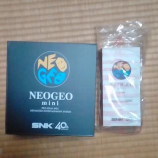 ネオジオ(NEOGEO)のネオジオとミニパッドのセット 新品未開封(家庭用ゲーム本体)