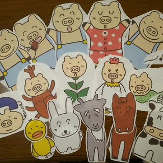 CD付き パネルシアター 3作品セット 保育 幼稚園(型紙/パターン)
