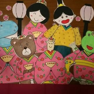 CD付き パネルシアター ひなまつり おひなさま 保育 幼稚園 行事(型紙/パターン)