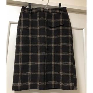 アンティックラグ(antic rag)の可愛い♡ チェック柄スカート(ひざ丈スカート)
